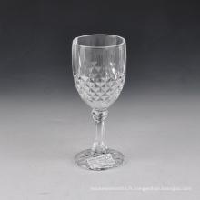 Usines de verre à vin à tige coupée