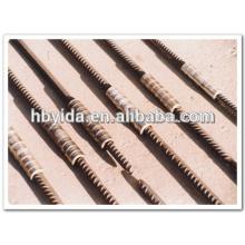 Kaltfließpreßprofil mechanischer Verbinder für den Tiefbau