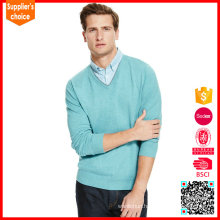 New fashion cashmere knitted sweaters men pullover cashmere blend man knitwear