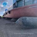 Airbag marin à long terme pour le lancement de barge