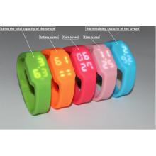 LED-Armbanduhr USB-Blitz-Scheiben-Feder-Antrieb für Förderung