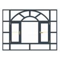 fenêtres en aluminium bronze