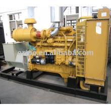 Refrigerado por agua, grupo electrógeno diesel de arranque eléctrico con motor shangchai