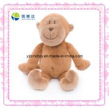 Смешные коричневые плюшевые игрушки обезьяны (XDT-0191)