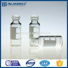 2 ml Frasco de amostras de cromatografia clara para parafuso 8-425 Tubular Frasco de HPLC de amostrador automático