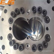 Высокое качество винт ствол для экструзии ПВХ машины биметаллические экструдер баррель