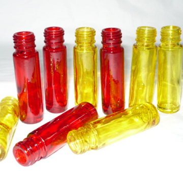 kosmetische Glasflasche Farbe auf Wasserbasis