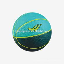 hochwertiger, individuell angefertigter Gummi-Basketball