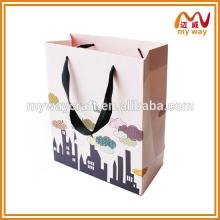 China fornecedor de saco de compras de papel personalizado de luxo, saco de papel, sacola de papel kraft