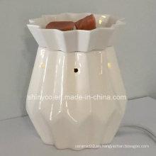 Calentador eléctrico de la lámpara de la fragancia translúcido con el regulador alejado