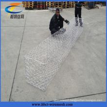 Anti-Flooding Retaining Wall Galvanized Gabion Basket Price