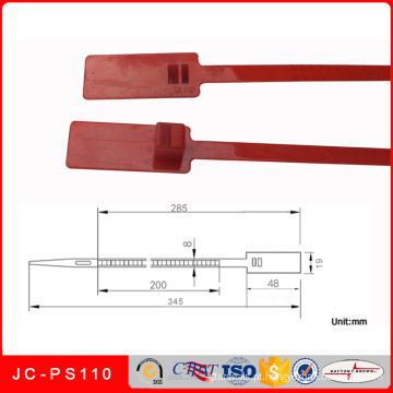 Jc-PS110 Fábrica Atacado Plastic Seal Segurança para Tote Bin