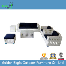 New Design White Rattan Patio Furniture