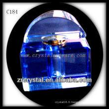 Belle bouteille de parfum en cristal C184