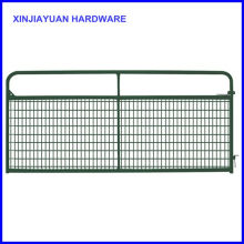 "1-5/8"" Tubular Frame Farm Gate Wire Mesh Filled for Cattle"