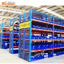 Medium duty easy assembly storage racking for bulk goods