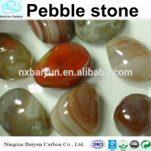 Polierte multicolor Kieselsteine im Angebot