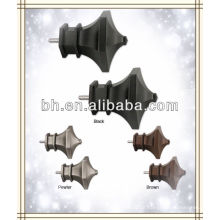 Tower Finials, design clássico, hardware home cortina decorativos pólos