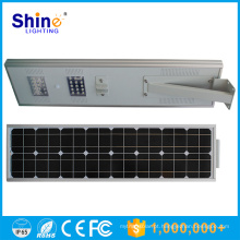 Top 10 China Fornecedores Tudo em uma luz de rua solar 12v solar 30w lâmpada LED 60w sunpower painel solar com 3 anos de garantia