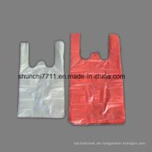 Plastikweste Einkaufstasche mit Farbe