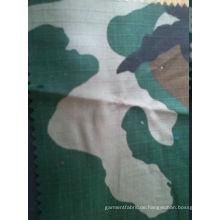Baumwolle Ripstop Camouflage Stoffdruck 270g für Kleidung, Zelt