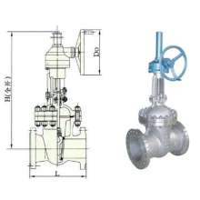 Bevel Gear Drive Wedge Gate Valve