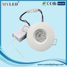 7pcs el smd epistar 5w AC230v llevó la lámpara llevó la cubierta del downlight y el hotel usando