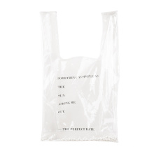 Fashion Transparent PVC Shopping Bags Grocery Handbags