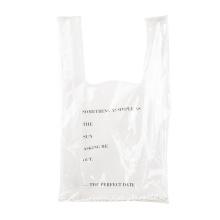 Мода прозрачные торговые ПВХ мешок продуктовые сумки