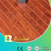 12 mm E0 HDF AC4 en relieve Hickory impermeable laminado