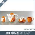 Muito melhor qualidade resistente ao calor cerâmica chá chá açúcar do café definido