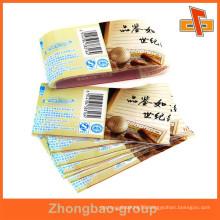 China vendor customizable heat sensitive attractive shrinkable PET bottle transparent label with your logo