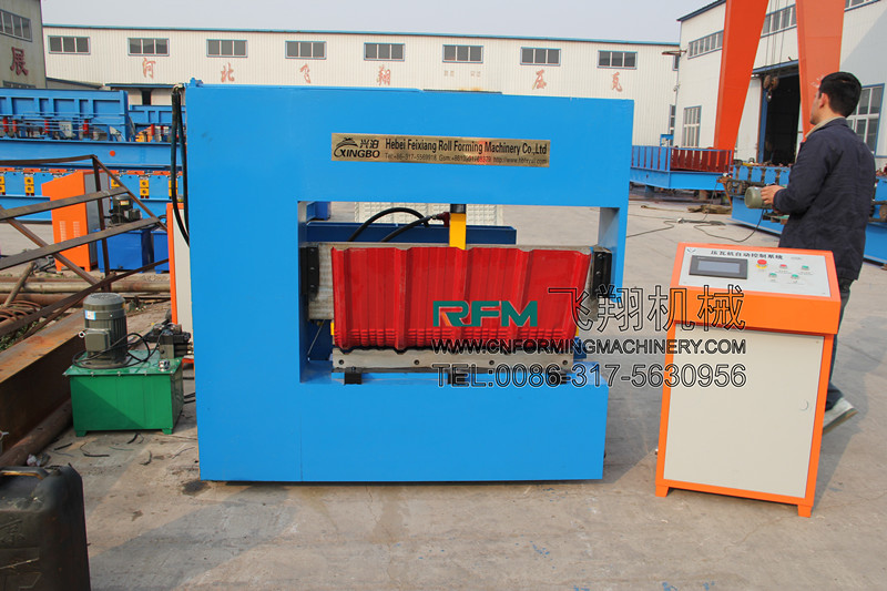 Sheet Steel Curving Machine