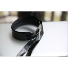 Cremallera de nylon negro impermeable para la ropa