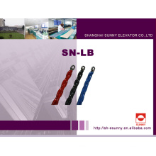 Equilibrio plástico envueltas ascensor compensación de cadena (SN-LB)