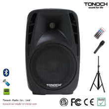 Fonte de fábrica caixa de som de plástico de 10 polegadas com qualidade estável