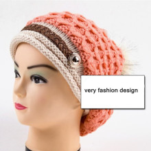 Ladies Fashion Hand Made Winter Hat