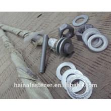 Prix d'usine zingué ASTM A193 B7 thread Bolt M42