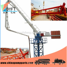 mobile distributer HGY32 Mechanical Stationary concrete placing boom, concrete boom placer for sale