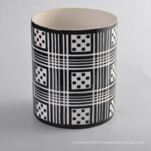 Hand Made Cylinder Heat Resistant Ceramic Candle Holder