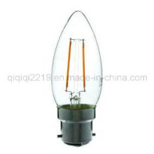 1.5W C35 Klar Dim B22 Shop Licht LED Glühlampe