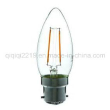 1.5W C35 Clear Dim B22 Shop Light LED Filament Bulb