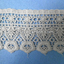 100% Cotton Water Soluble Lace