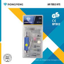 Rongpeng RP7812 11PCS Kits de herramientas neumáticas