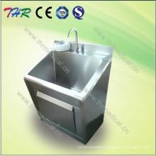 Stainless Steel Scrub Sink Hospital Furniture (THR-SS011)