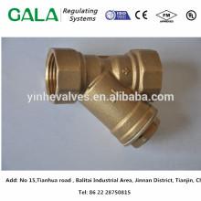 Metales de alta calidad metales fundición tipo Y cuerpo de colador con extremos de brida para el gas
