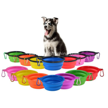 Promotional Pet Food Silicone Container