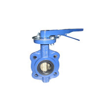 Carbon Steel Midline Butterfly Valve with Lever