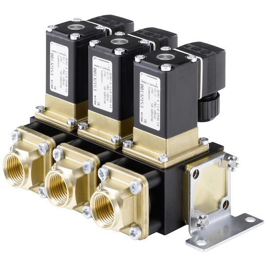 Application of DIN43560A Servo-assisted Valve Accessories Solenoid Coil