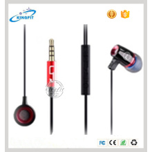 2016 New High Quality in-Ear Metal Earphone Headset Headpiece with Mic & Controller